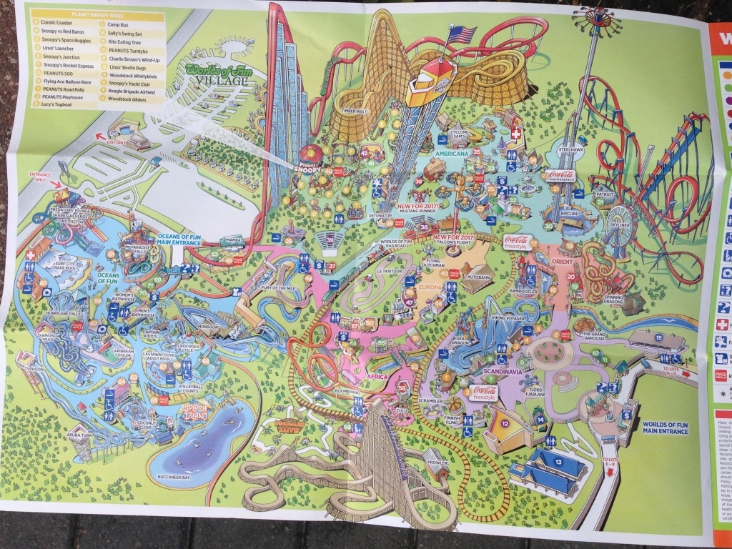 Photo Trip Report Worlds of Fun Theme Park Review