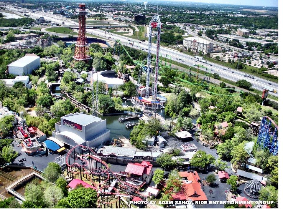 Theme Park Review Six Flags Over Texas Sfot Discussion