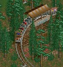 Theme Park Review • Custom-ish Coaster Topic (RCT2)