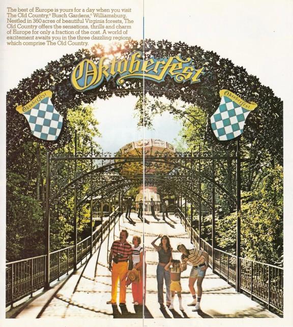 Busch Gardens Williamsburg 1979 Park Brochure Shane 39 S
