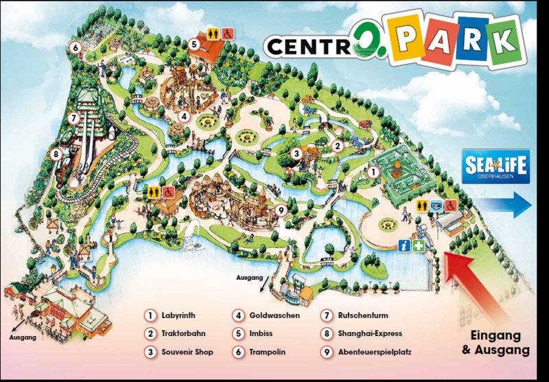 Oberhausen Germany  city pictures gallery : Photo TR: CentrO Park Oberhausen Germany Page 2 Theme Park ...