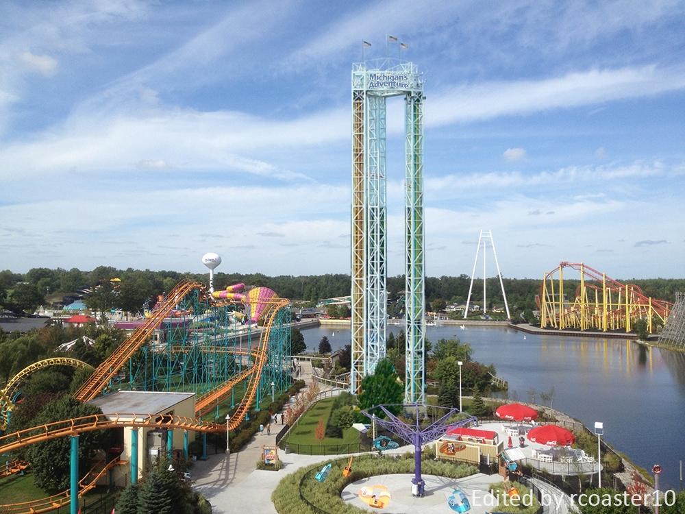 Drop Ride Credit My Water Park