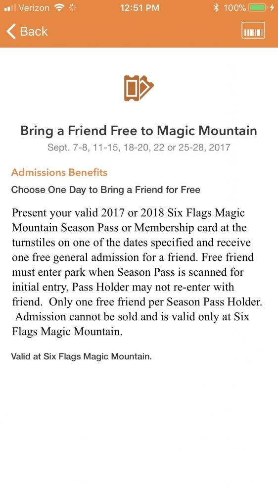 Theme Park Review • The Six Flags Magic Mountain (SFMM