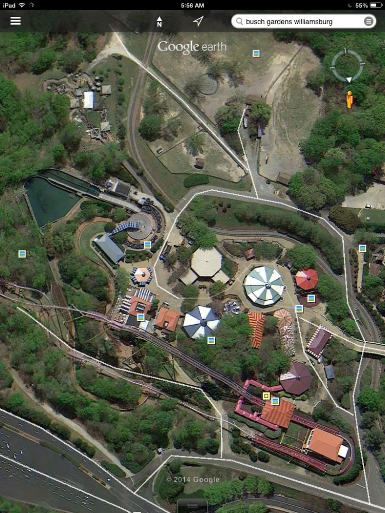Google Maps Busch Gardens Williamsburg Garden Ftempo