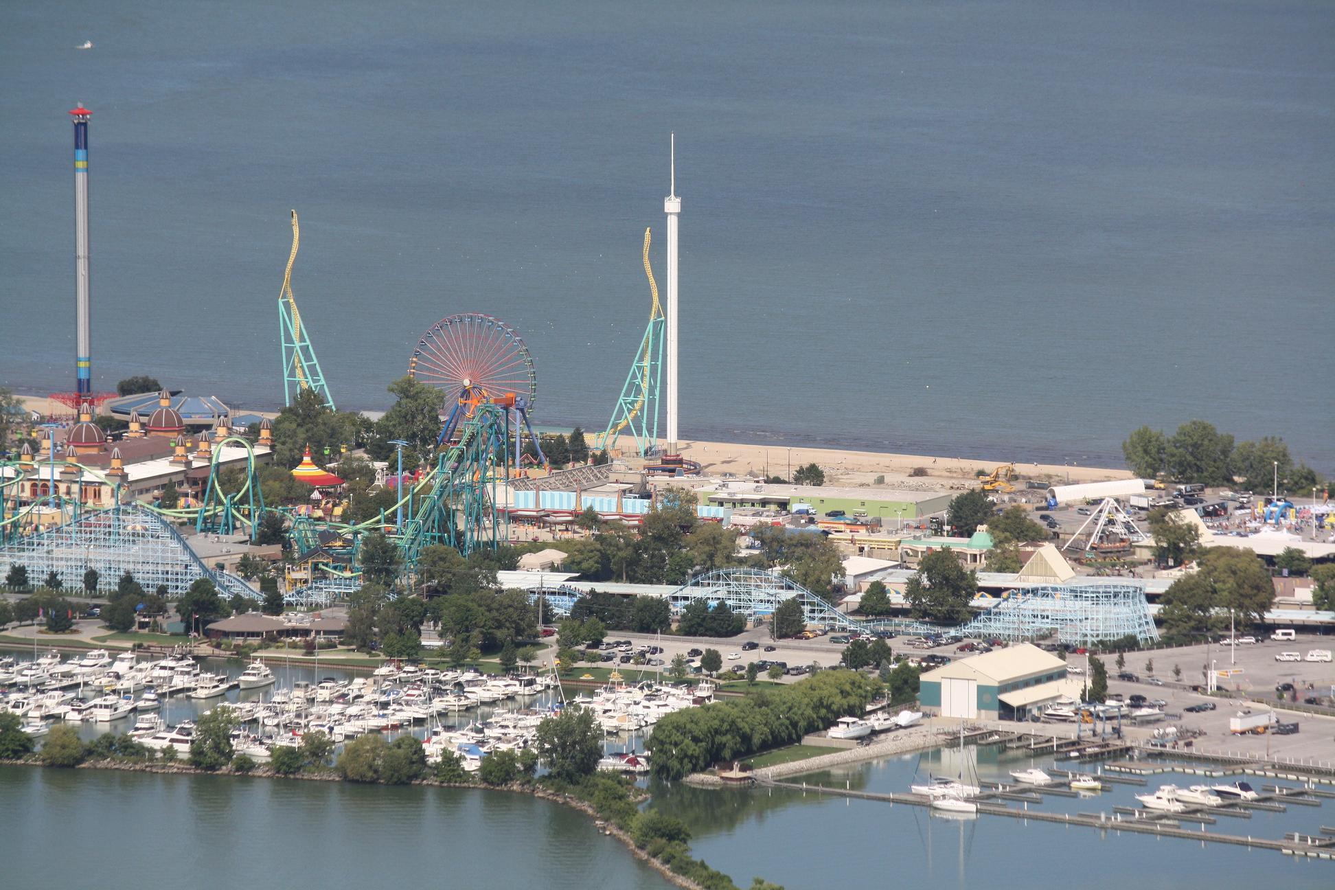 Alfa img - Showing > Space Spiral Cedar Point