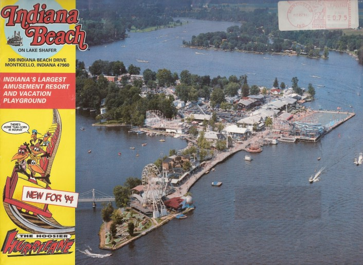 Theme Park Review • Map of Indiana Beach needed