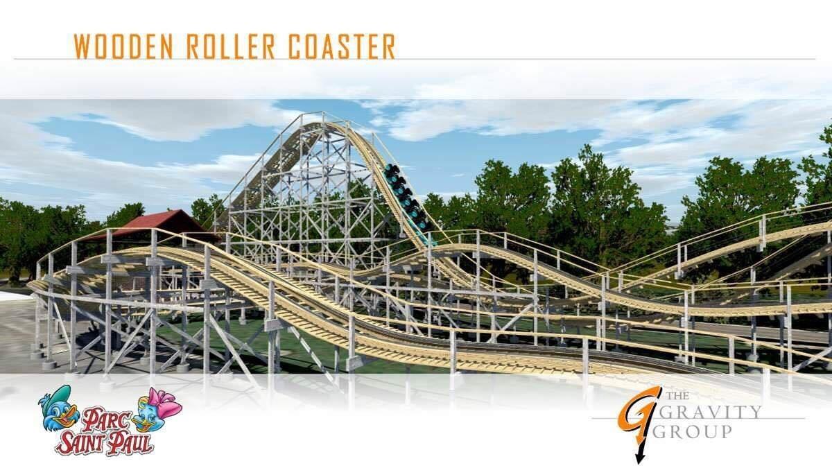 Parc Saint Paul New Gravity Group Woodie In Theme Park Review - Billet port aventura groupon