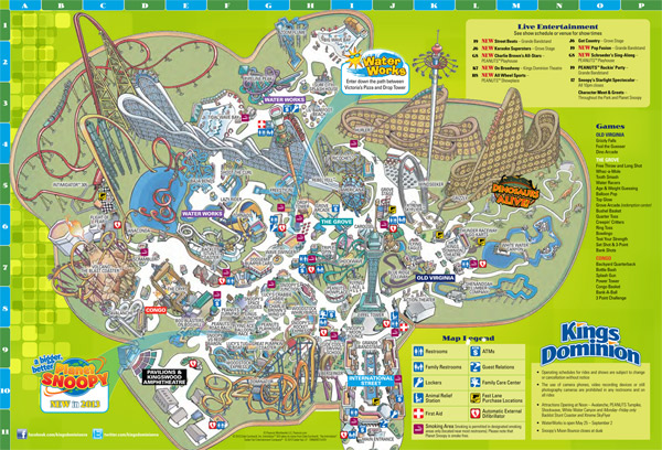 Dec 07, · For over 30 years, Kings Dominion Theme parks has always provided me with great food, fun, games and rides. Now my two sons, get to enjoy all the new fun attractions like Dinosaur live and the water park. Thanks, Kings Dominion for providing a .