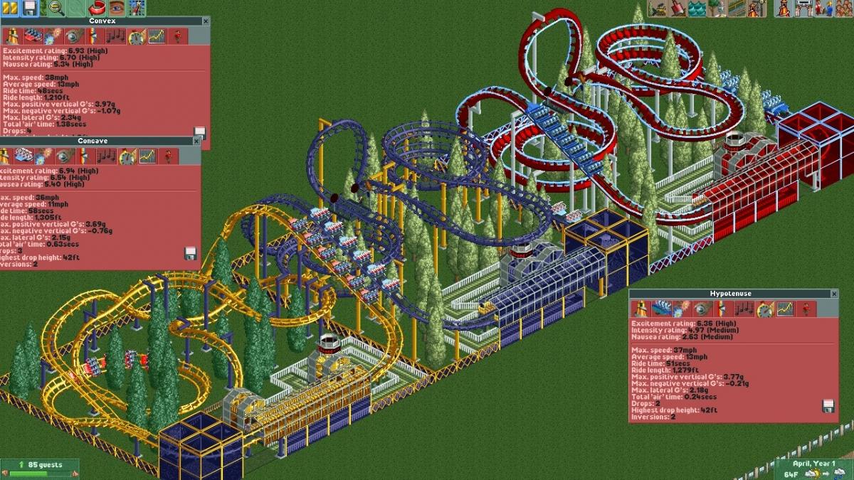 roller coaster tycoon 3 online