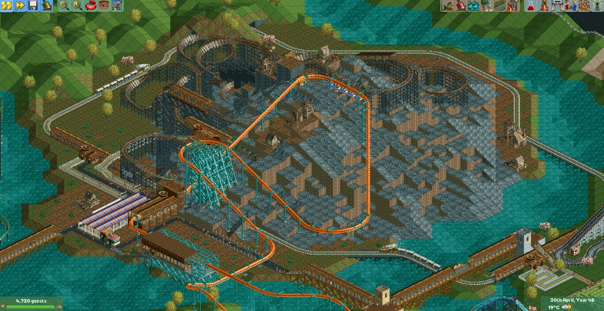 how to download park openrct2