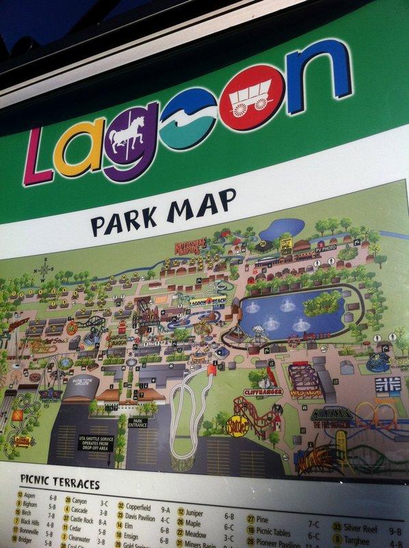 Lagoon Utah Map Related Keywords Amp Suggestions  Lagoon