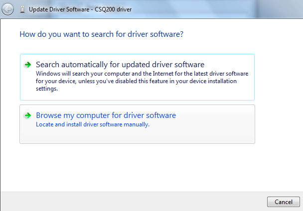 CSQ driver - Free download and software reviews