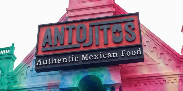 Antojitos at Universal Citywalk!