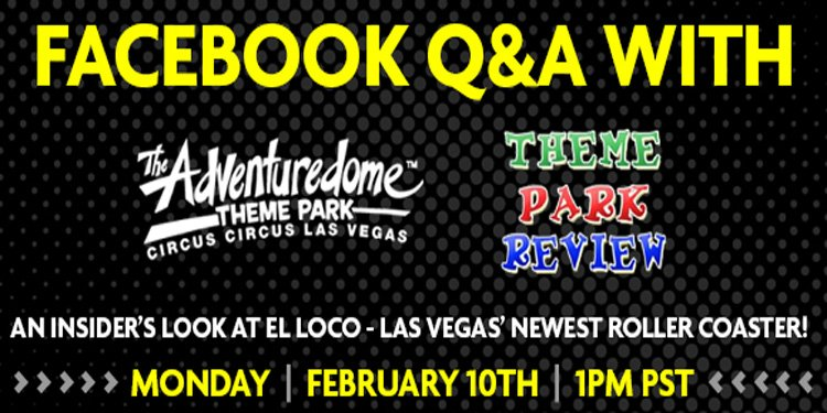 El Loco Q&A *TODAY* at 1pm!