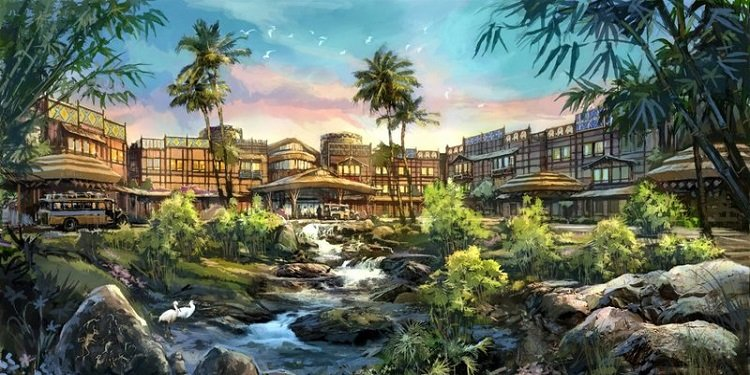 Hong Kong Disneyland New Hotel!