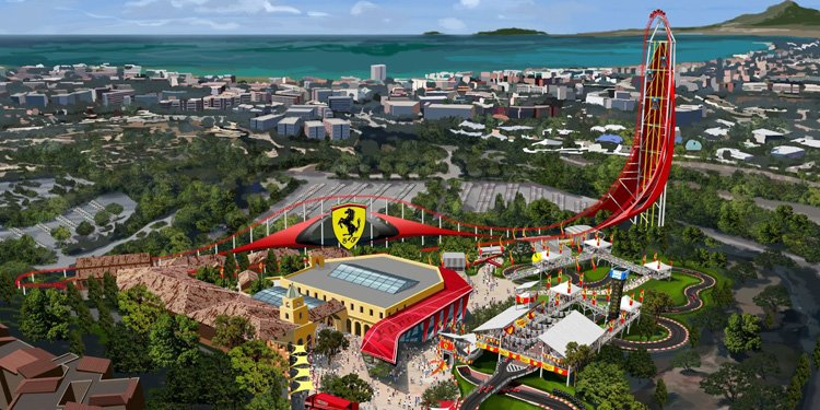 New Ferrari Themed Park!