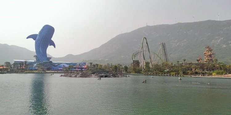 Report from Chimelong Ocean Kingdom!