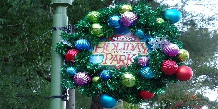 Christmas at Six Flags Magic Mountain!