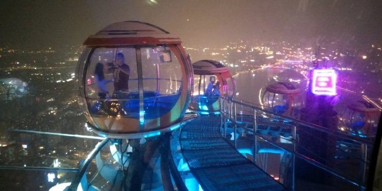 Report from Canton Tower in China!