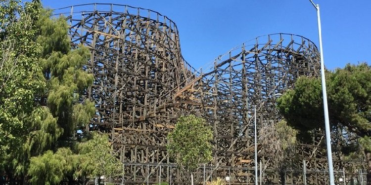 Knott's Ghostrider Update!