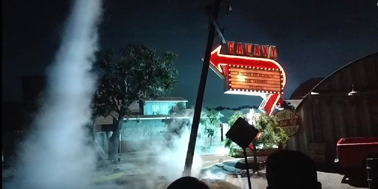 Video of Universal's Twister!