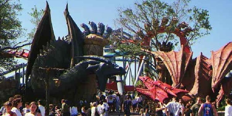 Islands of Adventure in 1999!