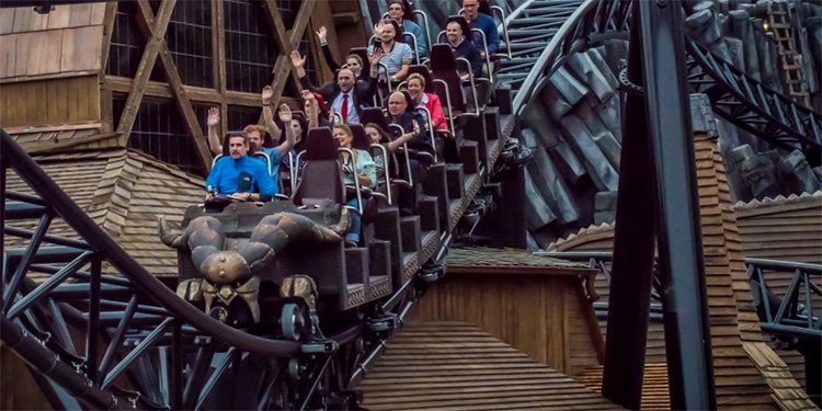 Taron at Phantasialand Opens!