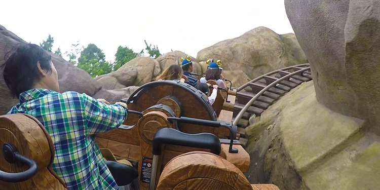 Seven Dwarfs Mine Train POV Video!