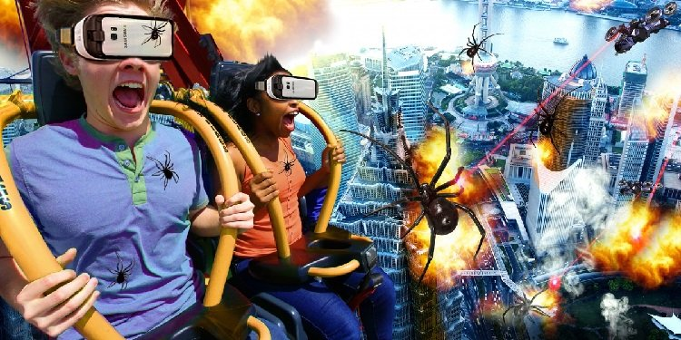 1st VR Drop Tower Coming to Six Flags Over Georgia!