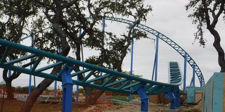 Update on SeaWorld's Wave Breaker!