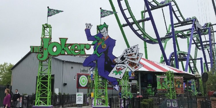 Joker Media Day at Six Flags New England!