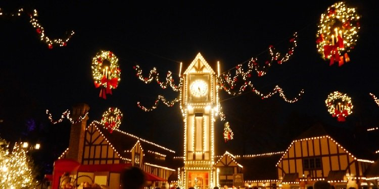 Christmas Town at Busch Gardens!