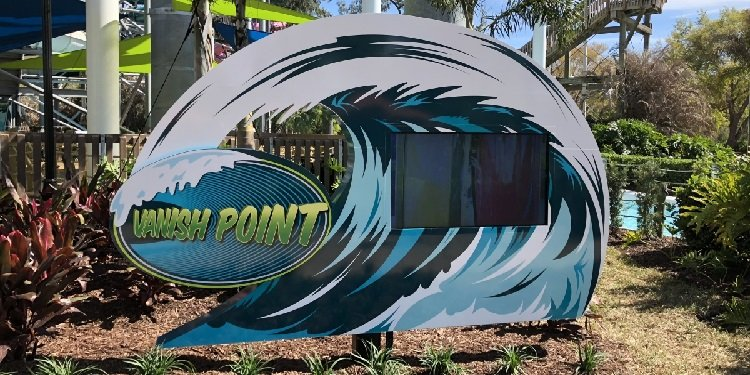 Media Day for Vanish Point at Adventure Island!