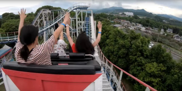 POV Video of Lina World's Jet Coaster!