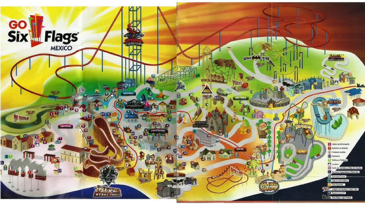 Theme Park Review The Six Flags Magic Mountain Sfmm Discussion