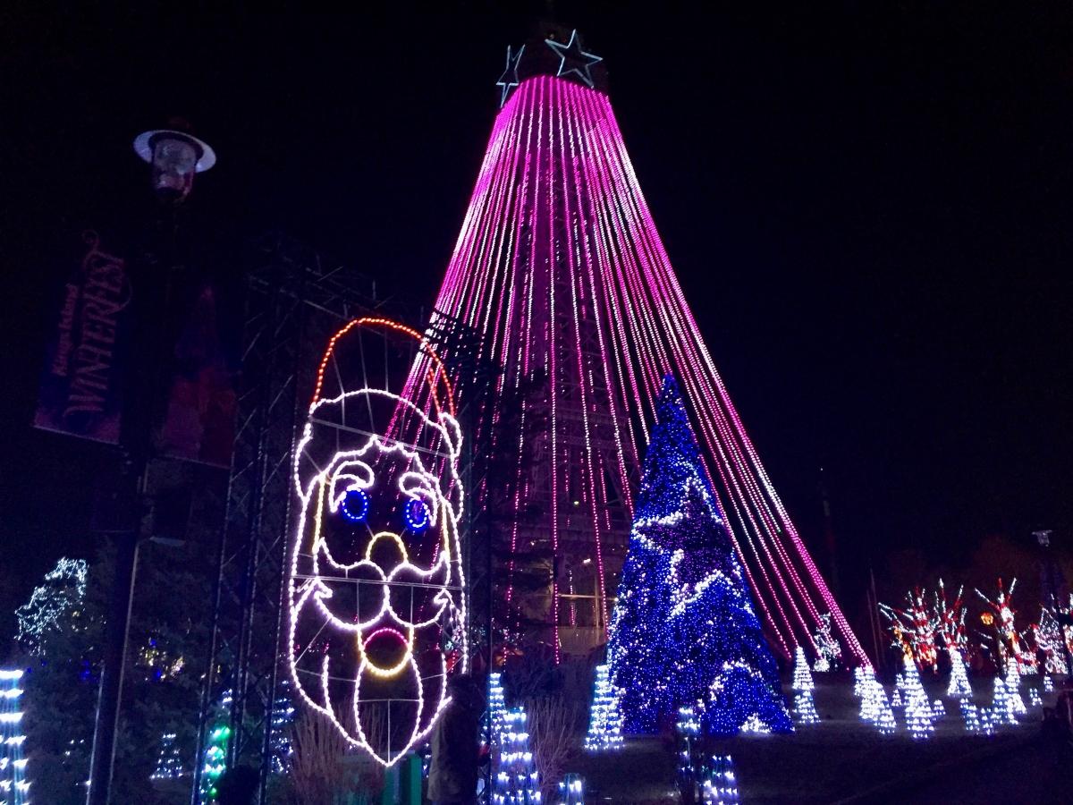 Theme Park Review • Photo TR: Kings Island WinterFest, Dec 3, 2017
