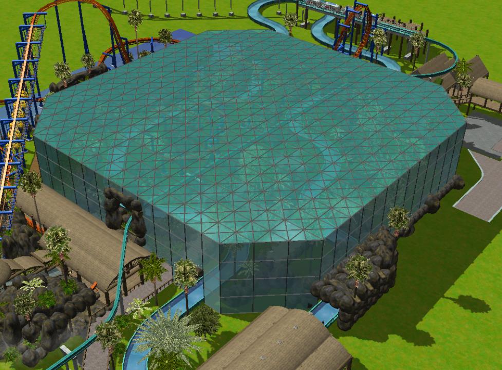 Theme Park Review Rct3 Jurassic World Theme Park