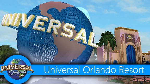 Orlando International Airport Roblox Theme Park Review Universal Orlando On Roblox