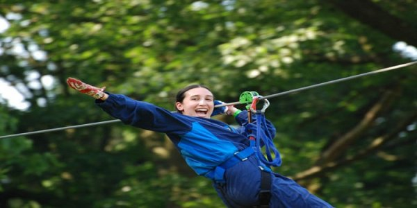 Theme Park Review Photo Update! Adventure Parc Ropes Course - Belgium.