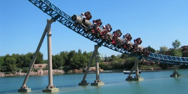 Theme Park Review Photo & Video Update! PortAventura, Barcelona, Spain