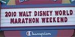 2010 Walt Disney World Marathon!