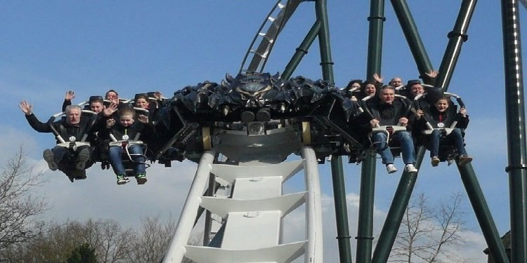 Heide Park's New Wing Coaster in Action!