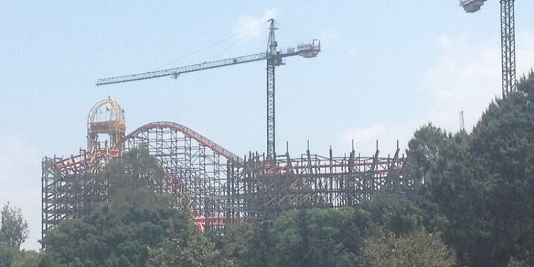 Update on Medusa at Six Flags Mexico!