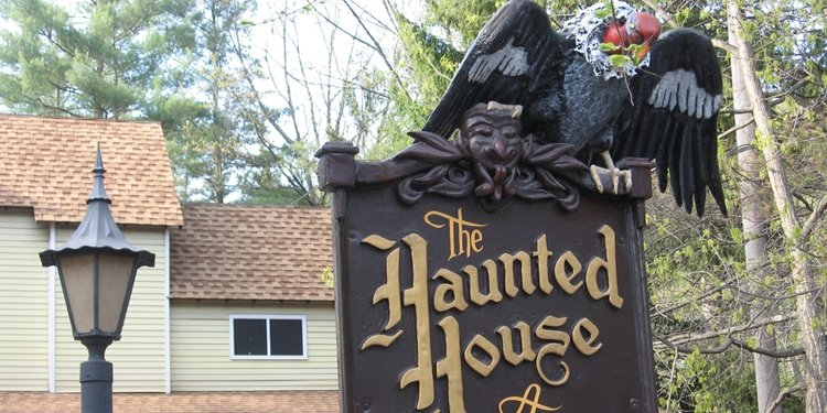 Knoebels Haunted House Video!