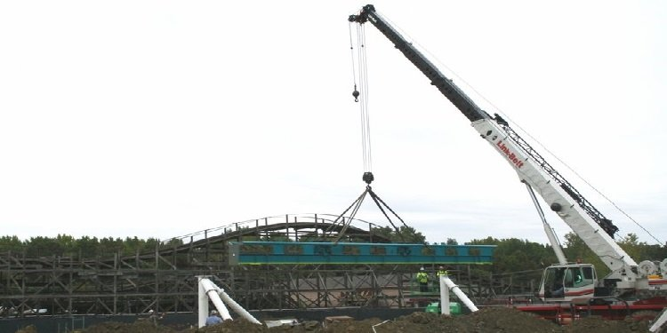 Fury 325 Construction Begins!
