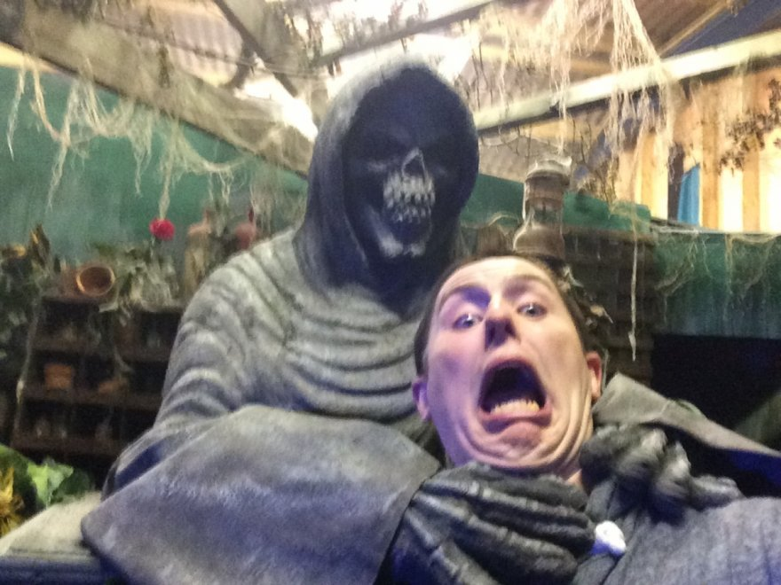 Behind the Scenes at Scare Kingdom!