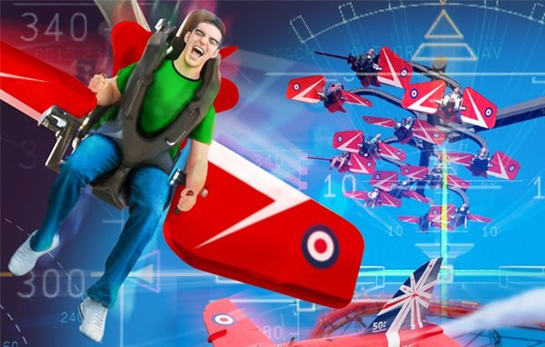 Red Arrows Sky Force Coming to Blackpool!