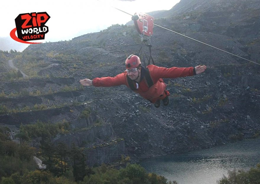 Ziplines & People-Powered Rides!
