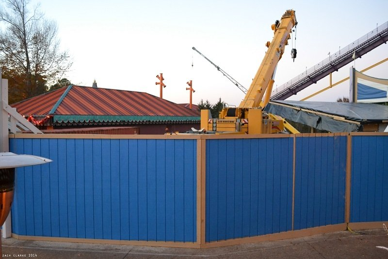 Mini Construction Update: Busch Gardens!