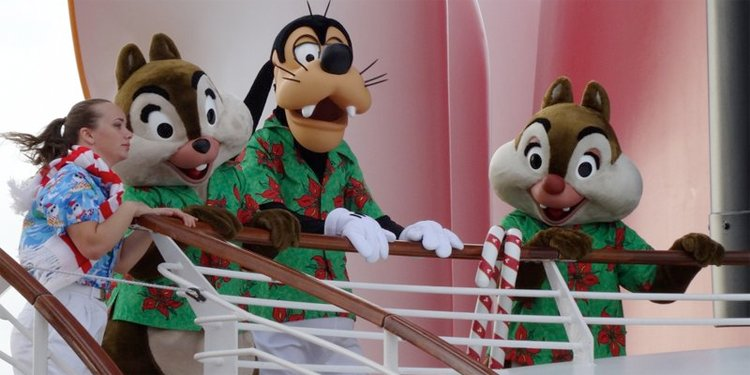 Christmas on the Disney Dream!